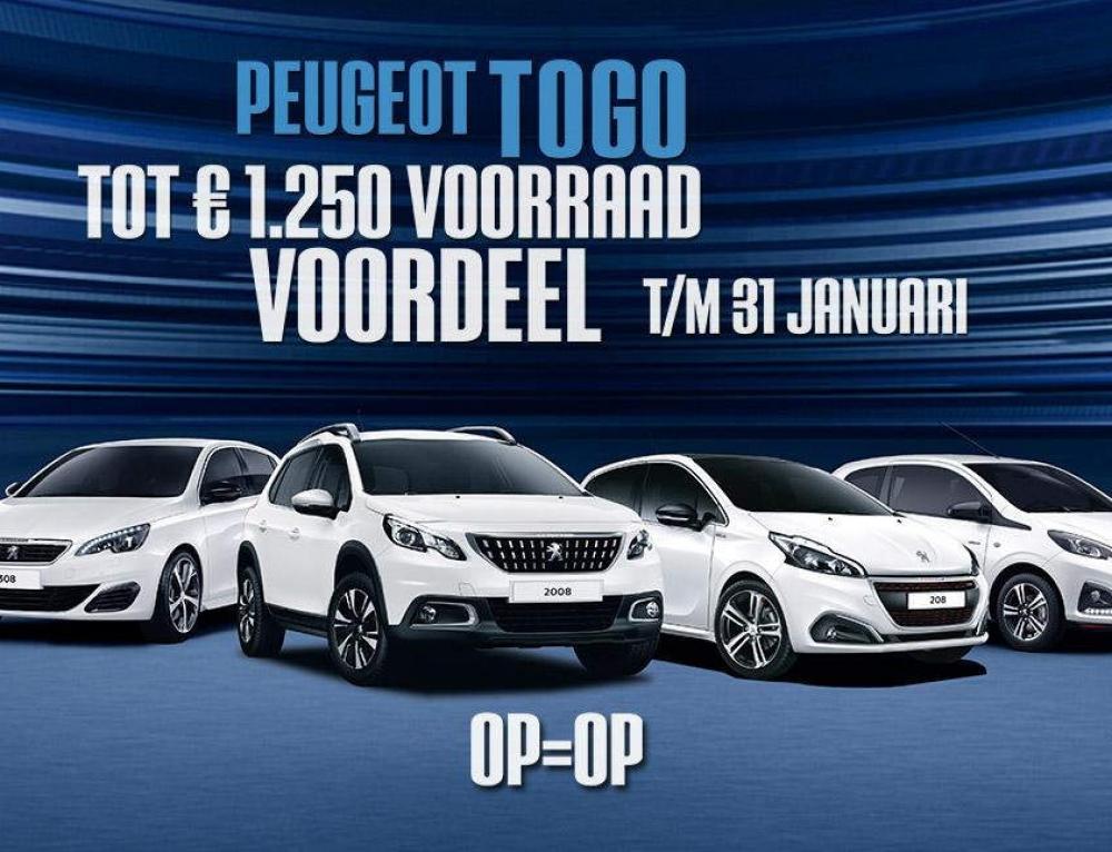 Peugeot To Go Actie
