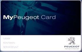 MyPeugeot Card